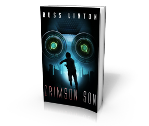 Crimson by Russ Linton - a superhero novel