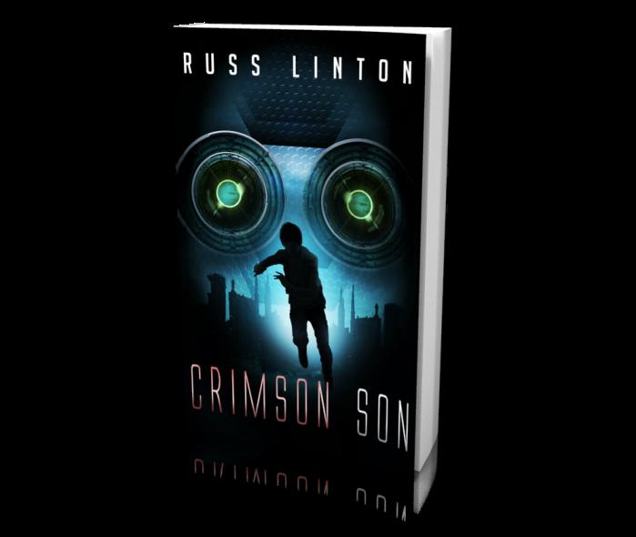 Crimson by Russ Linton - a superhero novel