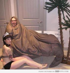 Jabba the Duvet and Princess Panty