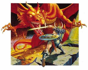 Red Dragon by Larry Elmore