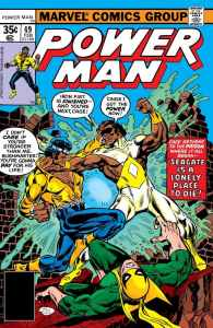 cover-of-power-man-49-featuring-bushmaster-illustrated-byfrank-giacoiai-watanabe-andron-w
